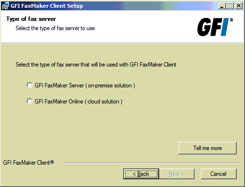 FaxMaker Online client